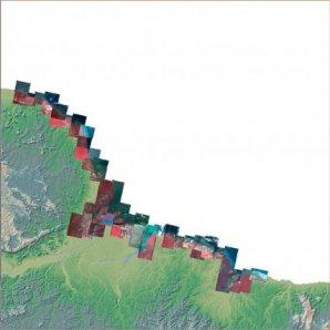 Mosaique d'images SPOT-5 sur la zone d'étude du programme PROCLAM  Le programme PROCLAM - Programme de Cartographie des littoraux Amazoniens. Le projet repose sur une coopération France-Brésil. Dans ce contexte particulier, l'objectif de PROCLAM est d'améliorer la connaissance des littoraux amazoniens, de renforcer leur surveillance et d'orienter les aménageurs du territoire vers une gestion intégrée de ces espaces sensibles. PROCLAM donnera lieu entre autre à une cartographie continue des littoraux amazoniens intégrée dans un Système d'Information Géographique. Il comprendra quatre couches : - mosaïque d'images en couleurs naturelles - cartographie des unités de paysage - cartographie de l'occupation humaine - cartographie de la vulnérabilité des milieux permettant de guider les décisions politiques en matière d'aménagement du territoire.